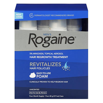 Men's Rogaine Hair Loss and Hair Regrowth Treatment Minoxidil Topical