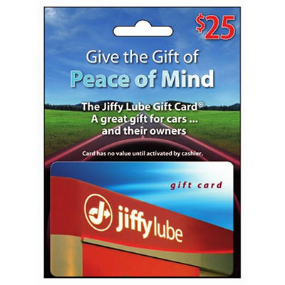 $25 Jiffy Lube Gift Card