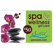 $50 Spa & Wellness Gift Card by Spa Week