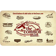 $25 The Common Man Gift Card