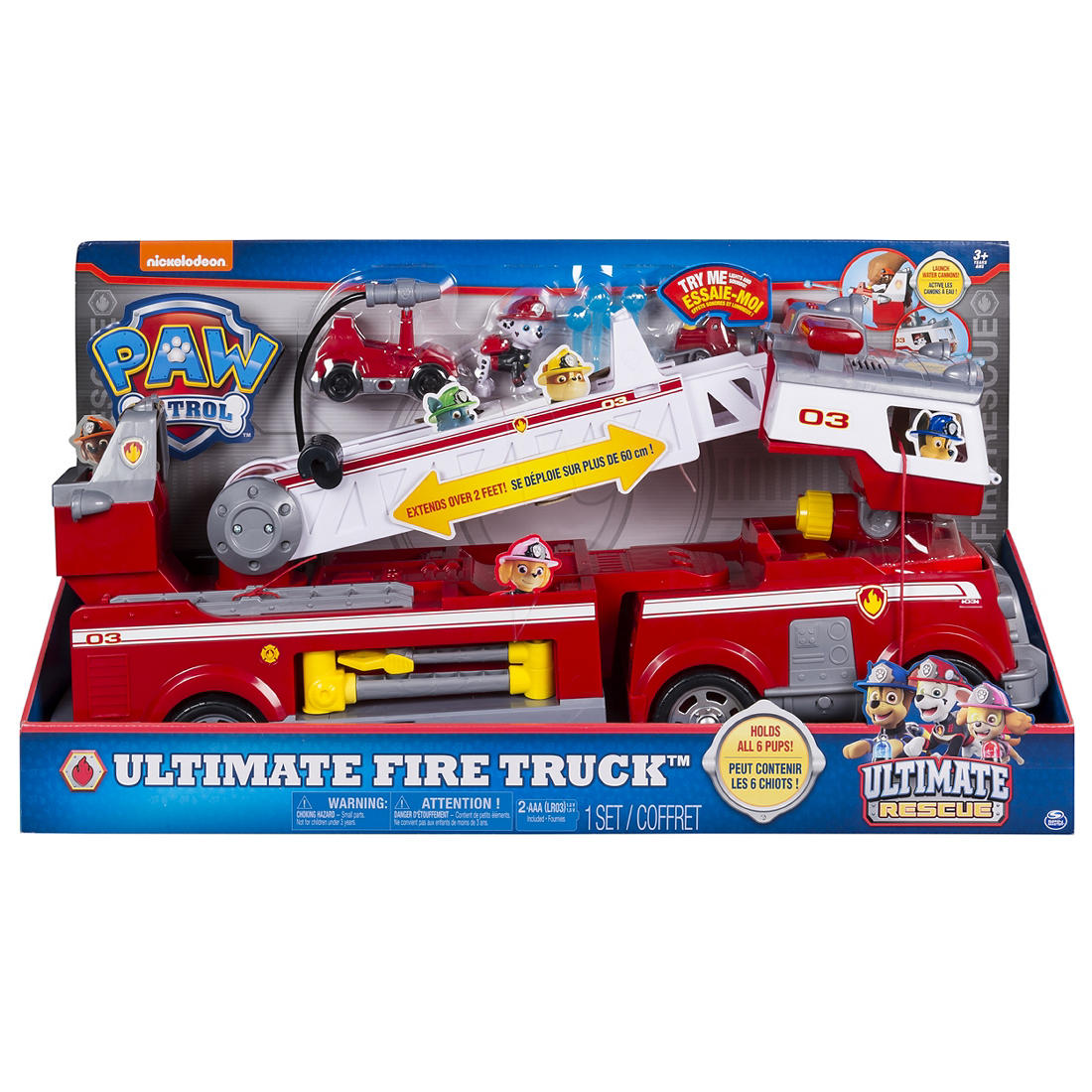 Brilliant Paw Patrol Ultimate Rescue Fire Truck Bralicious Painted Fabric Chair Ideas Braliciousco