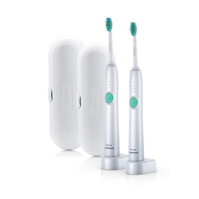 Philips Sonicare EasyClean Rechargeable Electric Toothbrush, 2 pk.