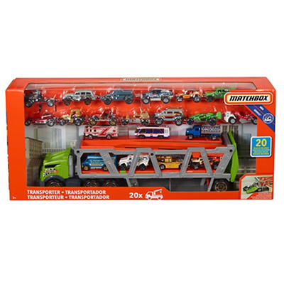 Mattel Matchbox Transporter with 20 Matchbox Cars