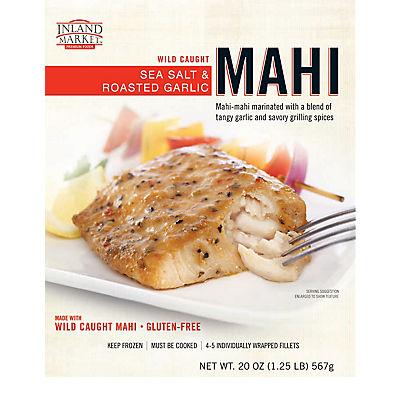 Inland Market Wild Caught Sea Salt & Roasted Garlic Mahi, 20 oz.