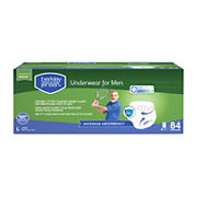 Berkley Jensen Incontinence Underwear for Men with Maximum Absorbency, Size Large, 84 ct.
