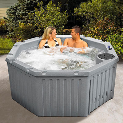 Celestial Spas Cirrus 4-Person 14-Jet Spa - Gray