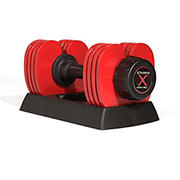 Stamina Adjustable Versa-Bell 16 to 36 lbs. - Red/Black