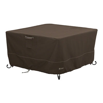 """Classic Accessories Madrona 42"""" Square Fire Pit Table Cover"""