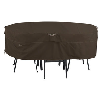 Classic Accessories Madrona Large Rectangular/Oval Patio Set Cover