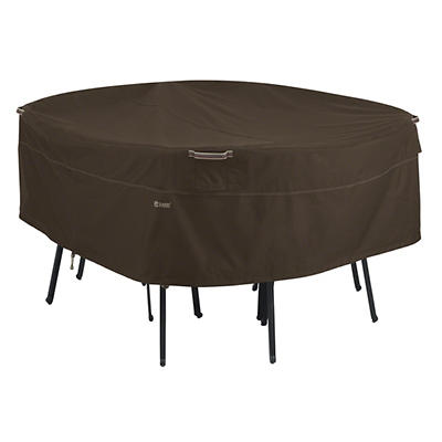 Classic Accessories Madrona Large Round Patio Set Cover