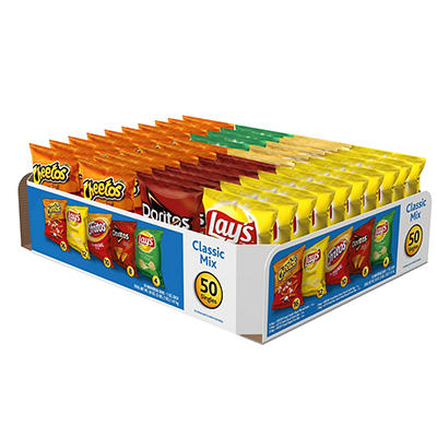 Frito-Lay Flavor Mix Variety Pack, 50 ct./1 oz.