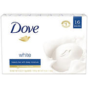 Dove White Bar, 16 ct./64 oz.