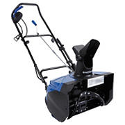 "Snow Joe Ultra 18"" 15-Amp Electric Snow Thrower with Light - Blue"