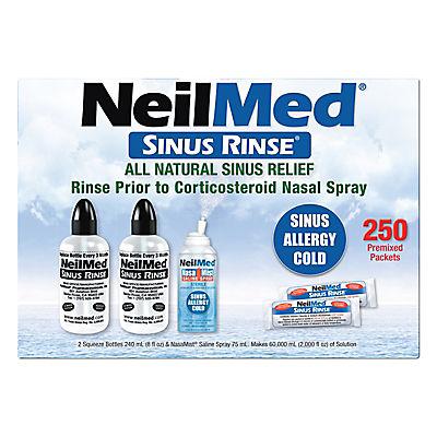 NeilMed Sinus Rinse Squeeze Bottles, 2 pk./8 fl. oz.
