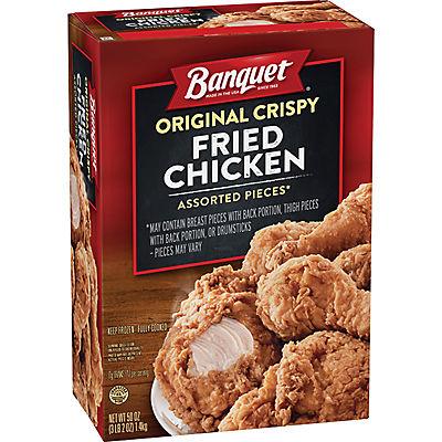 Banquet Original Crispy Fried Chicken, 50 oz.
