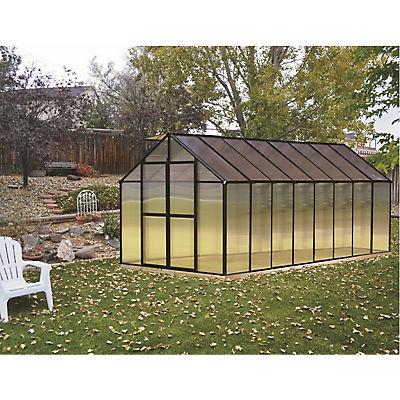 Riverstone Monticello 8' x 16' Premium Greenhouse Package with Bonus W