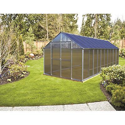 Riverstone Monticello 8' x 20' Premium Greenhouse Package with Bonus W