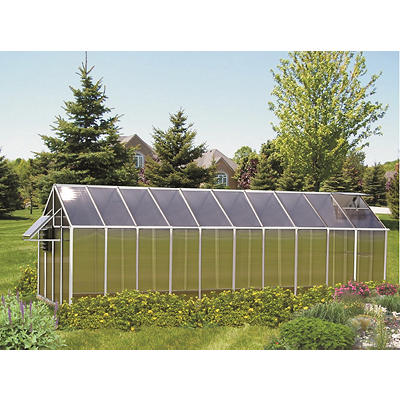 Riverstone Monticello 8' x 20' Mojave Greenhouse with Bonus Work Stati