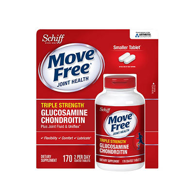 Move Free Joint Health Triple Strength Glucosamine Chondroitin Dietary