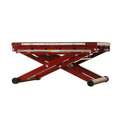 Stamina X Adjustable-Height Plyo Box - Red/Black