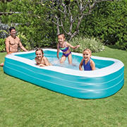 "Intex Swim Center 6' x 10' x 22"" Inflatable Family Pool"