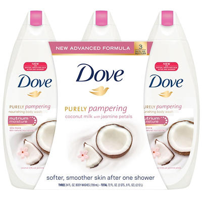 Dove Purely Pampering Nourishing Body Wash, Coconut Milk with Jasmine
