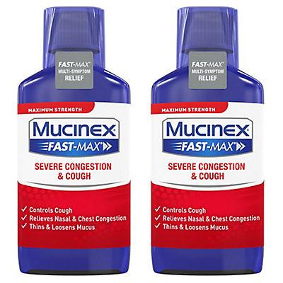 Mucinex Fast-Max Severe Congestion & Cough Maximum Strength Multi-Symp