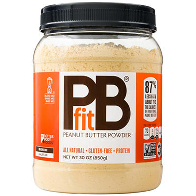PBfit Peanut Butter Powder, 30 oz.