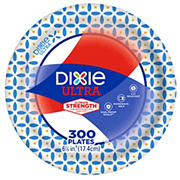 "Dixie Ultra 6.88"" Plates, 300 ct. - Flower Power"