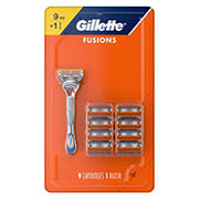 Gillette Fusion5 Men's Razor with 9 Razor Blade Refills