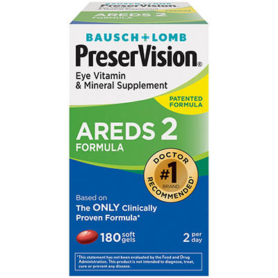 PreserVision Eye Vitamin and Mineral Supplement AREDS 2 Formula Softge