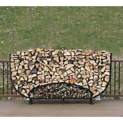 Shelter-It 8' Oval Firewood Crib - Black