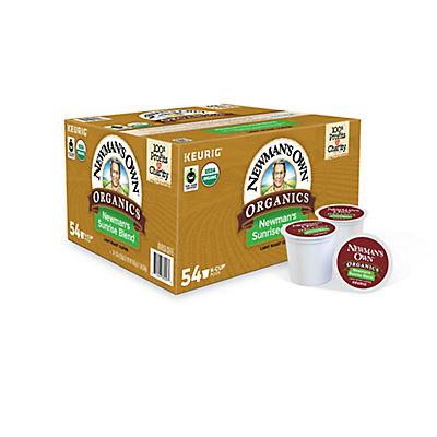 Newman's Own Organics Sunrise Blend K-Cup Pods, 54 ct.