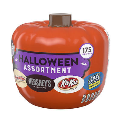 Hershey's Halloween Pumpkin Bowl Assortment, 175 ct.
