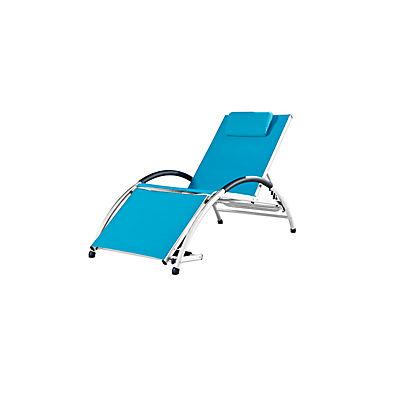 Vivere Dockside Sun Lounger - Blue
