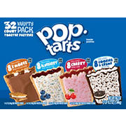 Kellogg's Pop-Tarts Toaster Pastries Summer Variety Pack, 32 ct.