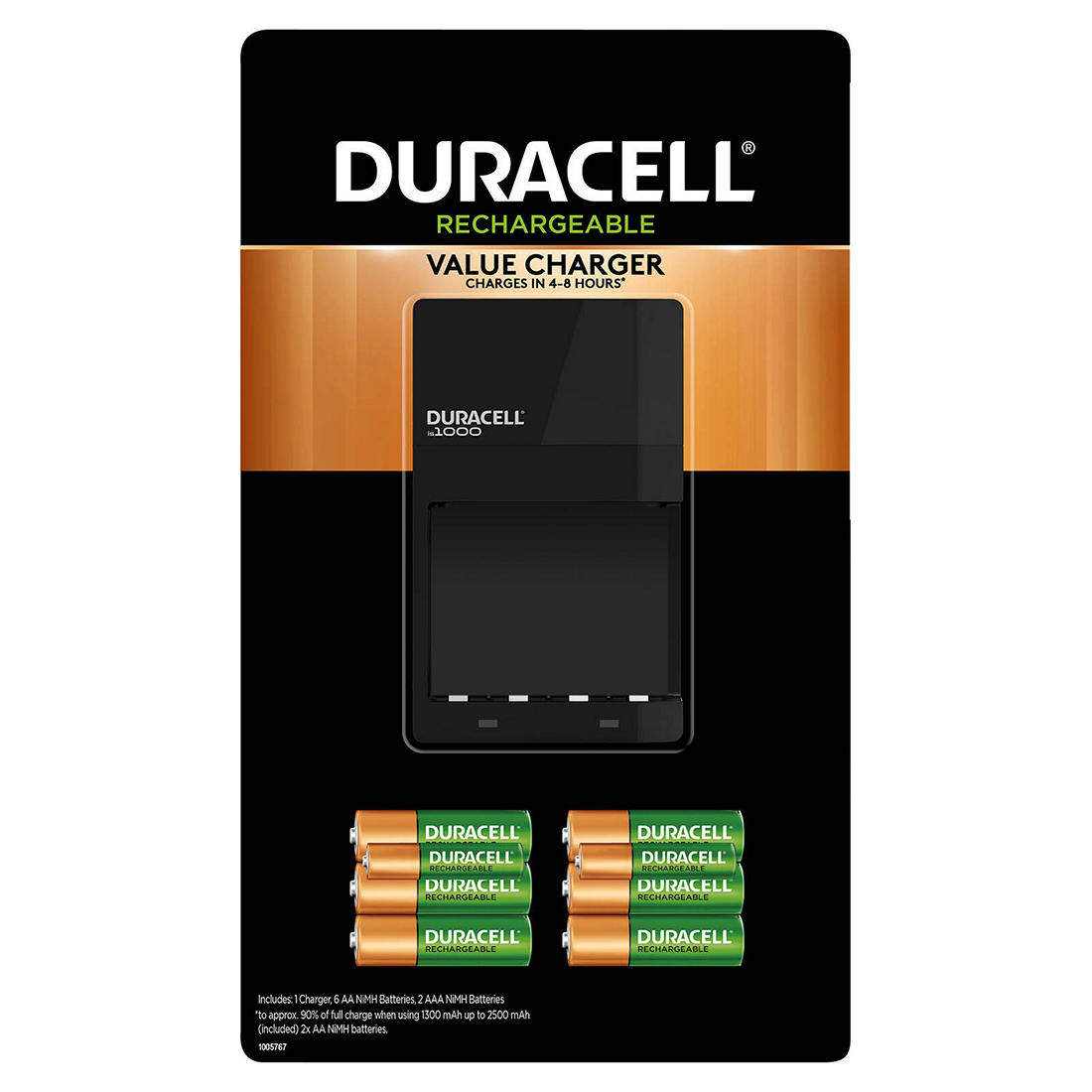 AAA lot of 2 NEW Duracell Rechargeable Quick Charger With Batteries 2 AA 2