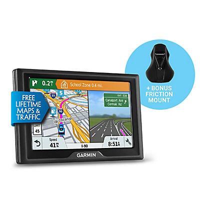 "Garmin Drive 51 LMT-S 5"" GPS Navigator with Bonus Friction Mount, Life"