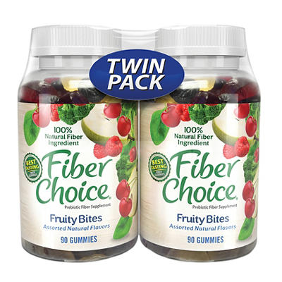 Fiber Choice Fruity Bites, 180 ct.