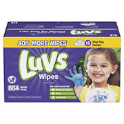 Luvs Clean Scent Baby Wipes, 864 ct.