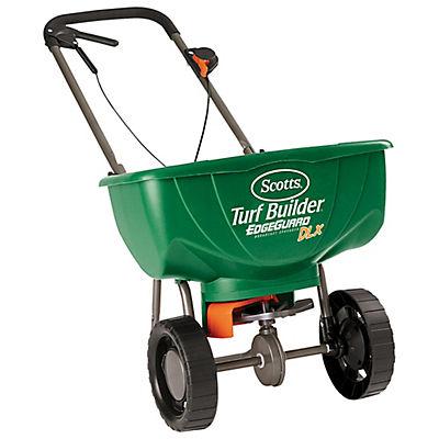 Scotts Turf Builder EdgeGuard DLX Lawn Spreader