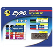 EXPO 18-Pc. Dry Erase Set
