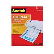 Scotch Letter-Size Thermal Laminating Pouches - 100 ct.
