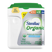 Similac Organic Infant Formula with Iron Powder, 34 oz.