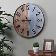 SEI Gavend Industrial Wall Clock