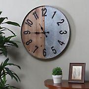 SEI Gavend Industrial Wall Clock