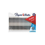 Paper Mate Profile Pen, 20 pk. - Black