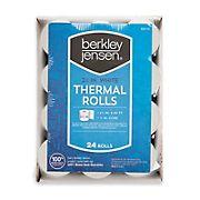 Berkley Jensen Thermal Paper Rolls, 24 pk.