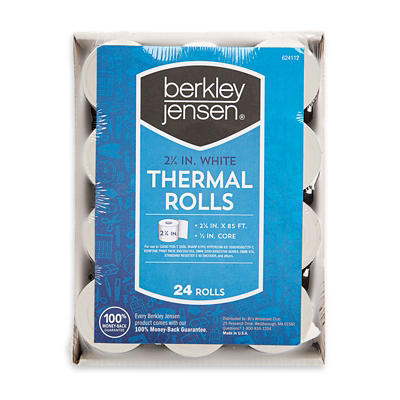 Berkley Jensen Thermal Paper Rolls, 24 pk.