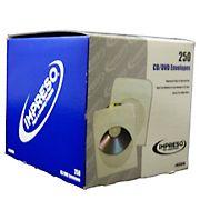 Alliance Impreso CD Envelopes, 250 ct.